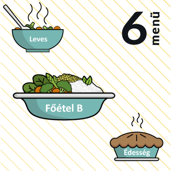 Indiai lencseleves + Mexikói rakott édesburgonya, barna rizs + Nagymama almáspitéje